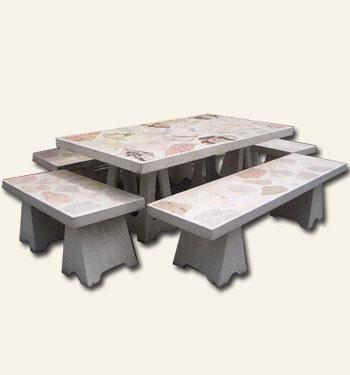 โต๊ะจัมโบ้หินอ่อน