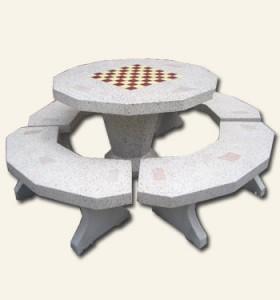โต๊ะ 12 เหลี่ยมหินขัด