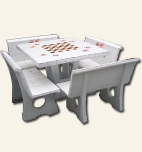 โต๊ะพิงกระเบื้อง